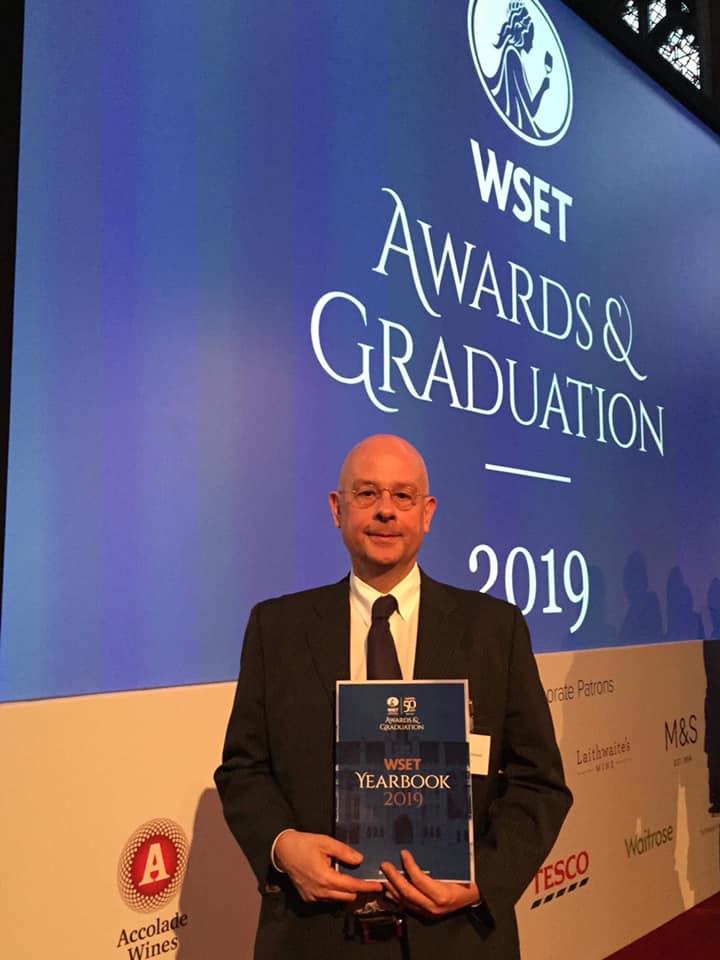 WSET(Wine and Spirit Education Trust)の授賞式
